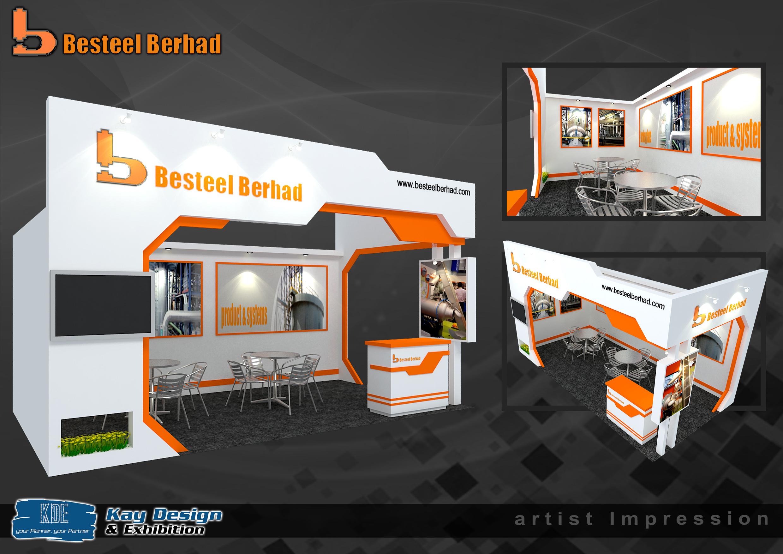 Exhibition Booth Supplier : Beststeel booth design best designer contractor