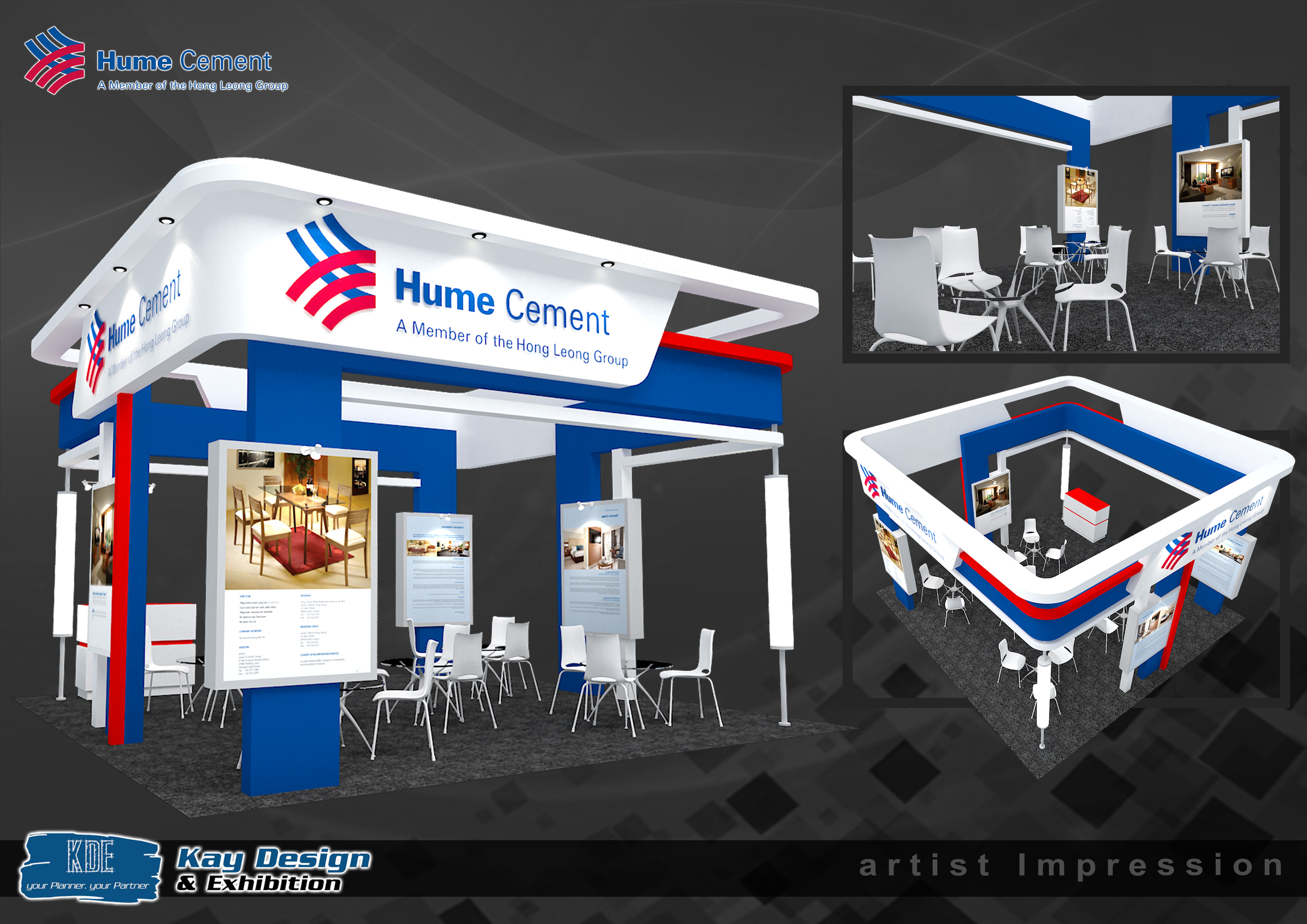 Exhibition Booth Requirements : Hume cement booth design exhibition contractor