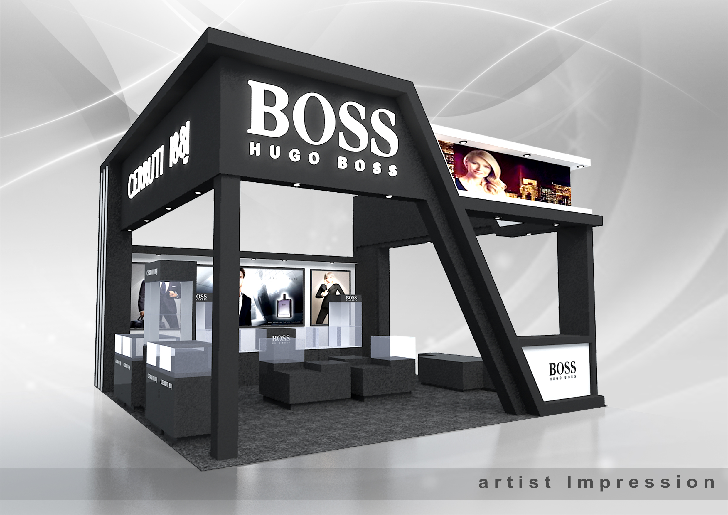 Exhibition A Booth : Exhibition booth design malaysia invent